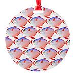 Opah Pattern Ornament