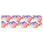 Opah Pattern Bumper Sticker