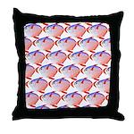 Opah Pattern Throw Pillow