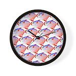 Opah Pattern Wall Clock