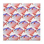 Opah Pattern Tile Coaster