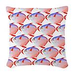 Opah Pattern Woven Throw Pillow