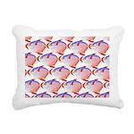 Opah Pattern Rectangular Canvas Pillow