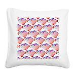 Opah Pattern Square Canvas Pillow