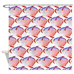 Opah Pattern Shower Curtain