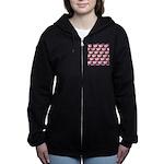 Opah Pattern Women's Zip Hoodie