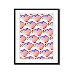 Opah Pattern Framed Panel Print