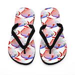Opah Pattern Flip Flops