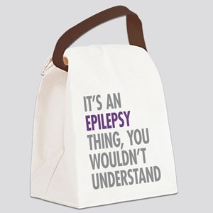 Epilepsy Thing Canvas Lunch Bag