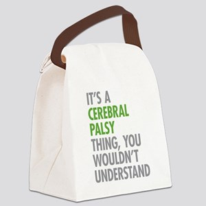 Cerebral Palsy Thing Canvas Lunch Bag