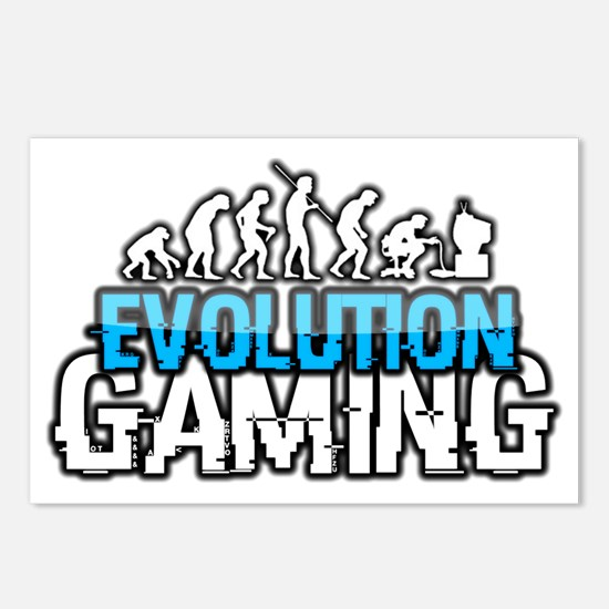 Evolution Gaming Logo Postcards (Package of 8)