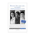Mini Massachusets Public Health Poster Print