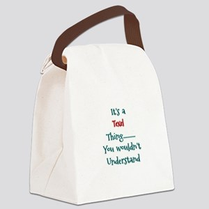 Texel Thing Canvas Lunch Bag