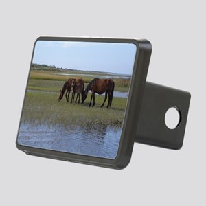 Shackleford Ponies Rectangular Hitch Cover