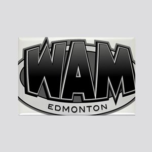 Edmonton WAM! Rectangle Magnet