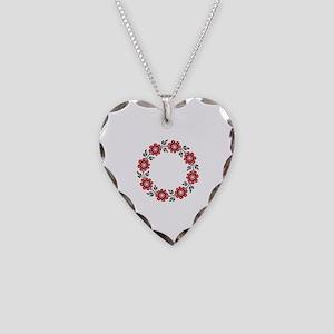 UkrPrint Necklace Heart Charm