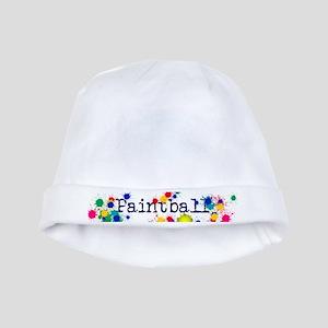 Paintball Paint Splatter baby hat