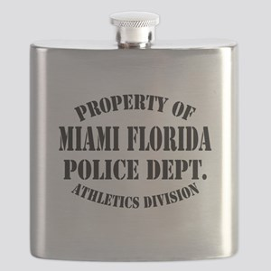 Property of Miami Fl Police Flask