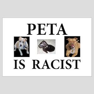 BAN PETA & BSL Large Poster