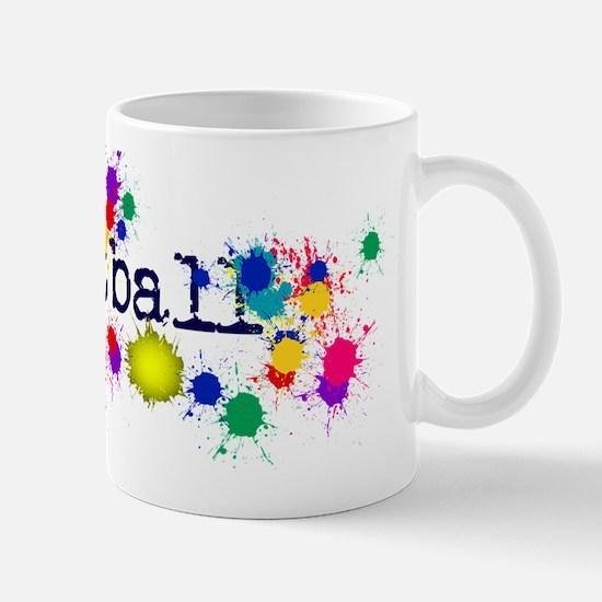Paintball Paint Splatter Mugs