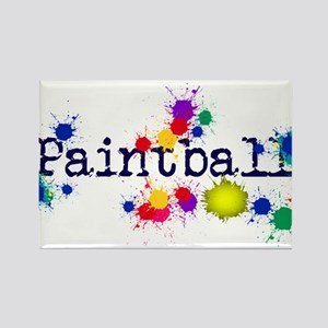 Paintball Paint Splatter Magnets