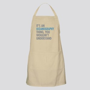 Oceanography Thing Apron