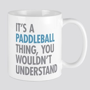 Paddleball Thing Mugs