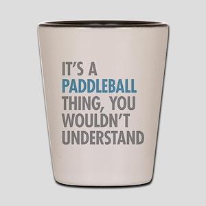 Paddleball Thing Shot Glass