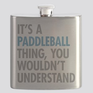 Paddleball Thing Flask