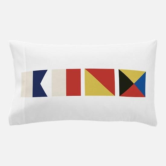 Nautical Flags Pillow Case