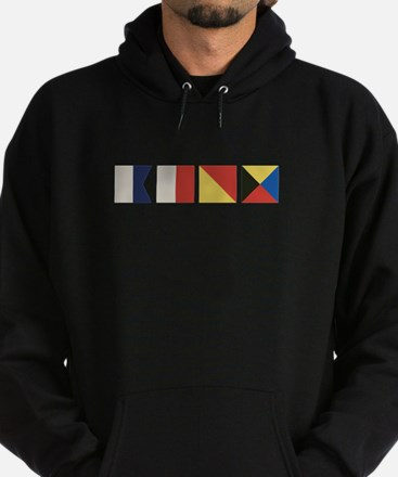 Nautical Flags Hoodie