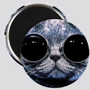 Cool Cat With Shades Magnet