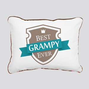 Best Grampy Ever Rectangular Canvas Pillow
