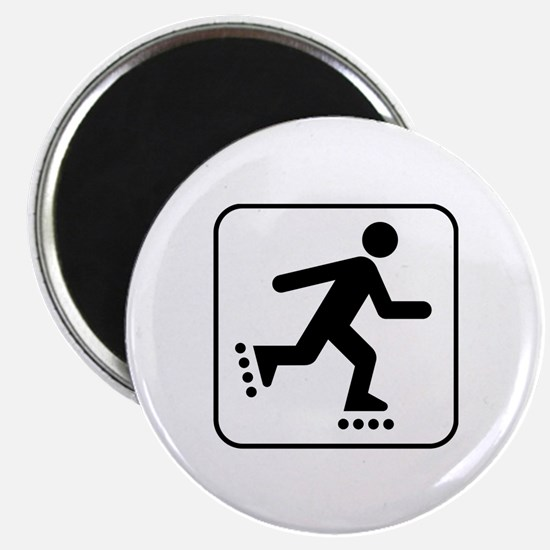 Rollerblade Park Symbol Magnet