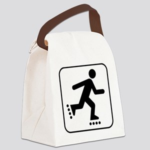 Rollerblade Park Symbol Canvas Lunch Bag