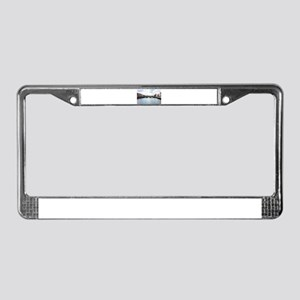 Downtown Dublin - Ireland License Plate Frame