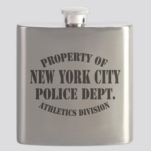 Property of New York City Police Flask