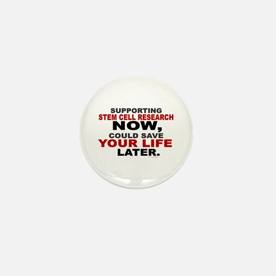 Support Stem Cell Research Now Mini Button