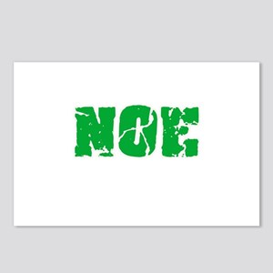 Noe Name Weathered Green Postcards (Package of 8)
