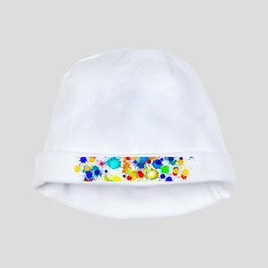 Paintball Splatter Wall baby hat