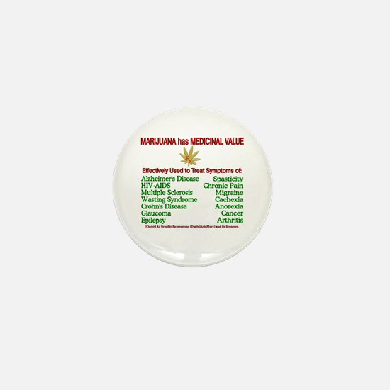 Rx Marijuana Mini Button