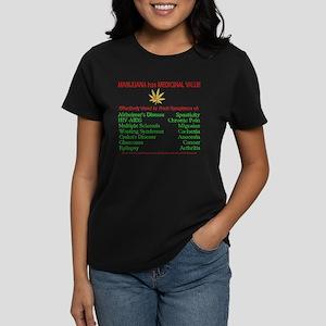 Rx Marijuana Women's Dark T-Shirt