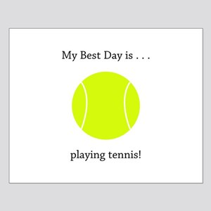 Best Day Playing Tennis Gifts Posters