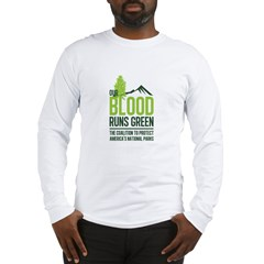 Our Blood Runs Green Long Sleeve T-Shirt