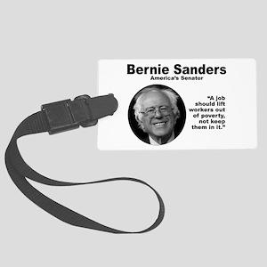 Sanders: Job Large Luggage Tag