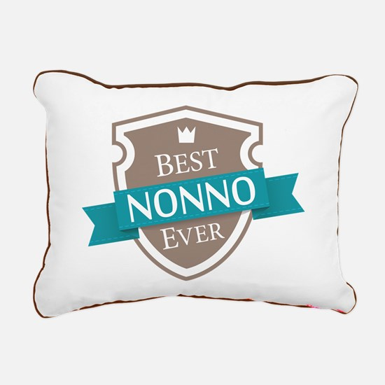 Best Nonno Ever Rectangular Canvas Pillow