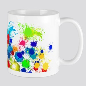 Paintball Splatter Wall Mugs