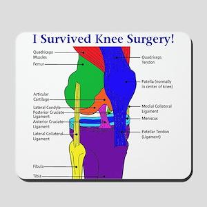 Knee Surgery Gift 12 Mousepad