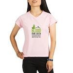 V-Neck Performance Dry T-Shirt