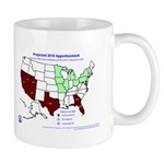 Apportionment 2010, Shift in Seats, (2004) Mug